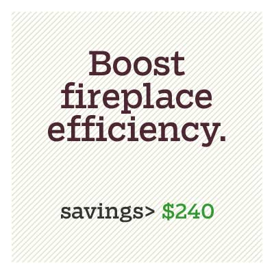 boost fireplace efficiency for d i y savings