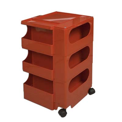 rolling cart for organizing and storing supplies