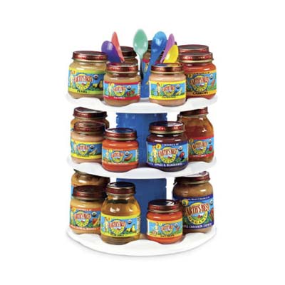 baby food jar organizer