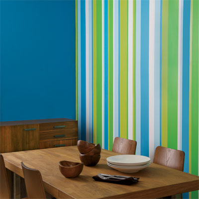Striped Wall Design Guide | Colorful Striped Wall Designs | This Old