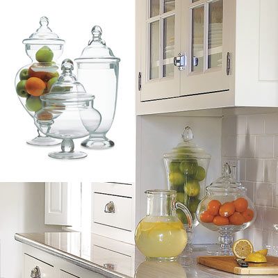 glass kitchen storage containers from pier one