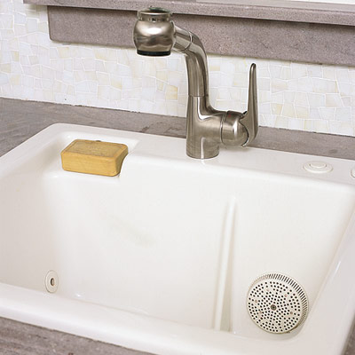 spa sink for washing delicates