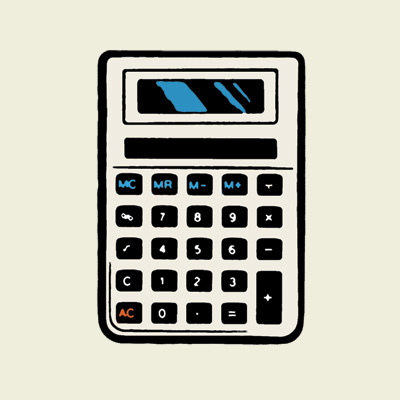 illustration of a calculator