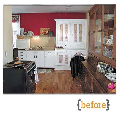 the italianate kitchen before it was remodeled