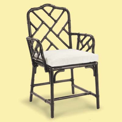 bamboo look vintage kitchen chair
