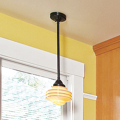 bright open kitchen pendant lamp