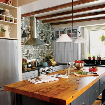 Eco Kitchen Remodel Remove A Kitchen Wall Gain Unique Style This Old House