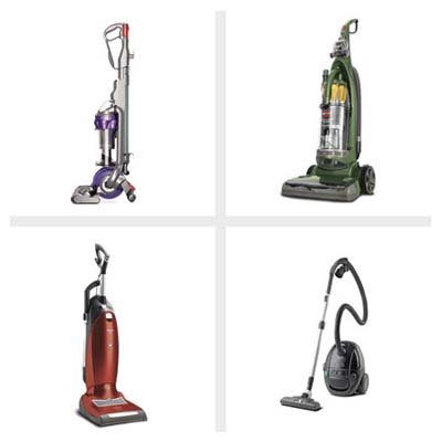 four dust dirt and allergen fighting vacuum cleaners