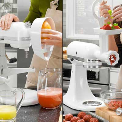 kitchen aid attachments