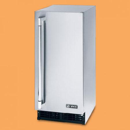 the Lynx outdoor ice machine