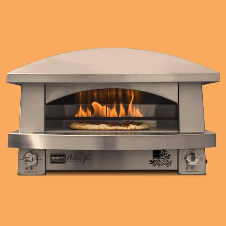 the Artisan outdoor pizza oven
