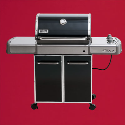 the Weber Genesis-310 three-burner propane grill