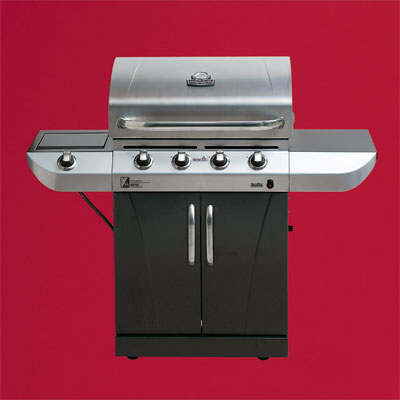 the Char-Broil Commercial Series four-burner propane grill