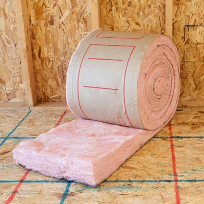 fiberglass  type insulation and home safety