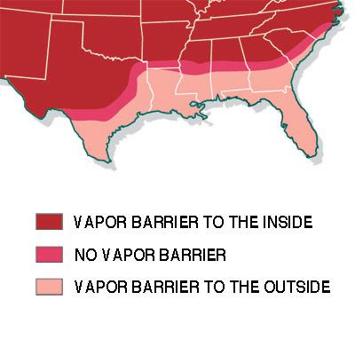 insulation vapor blockers