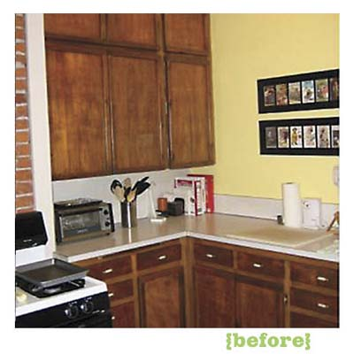 the kitchen of this victorian and craftsman style cottage before remodel