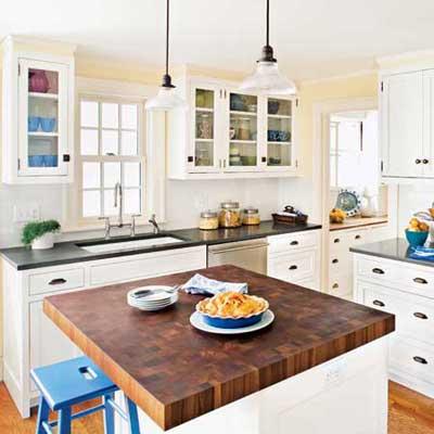 the Newton Centre, MA TV project remodeled kitchen