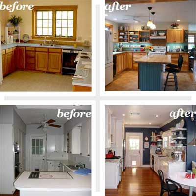 Your top reader remodels best kitchen before and afters Remodeling a small old house