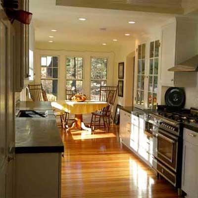 sunny updated kitchen