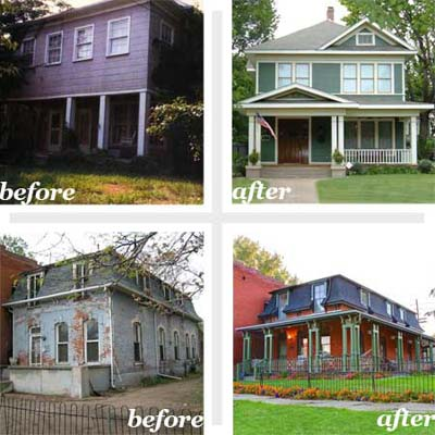 renovating a house