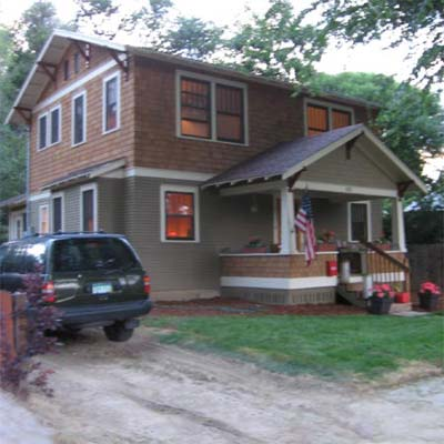 renovated two story house