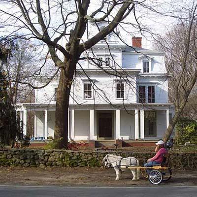 restored second empire house