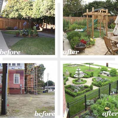 best yard reader remodels before and afters