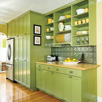 Yellow Green Kitchen : ... Look  Editors Picks: Our Favorite Green Kitchens  This Old House