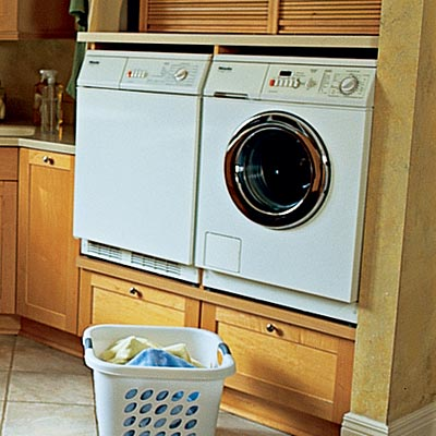 washer and dryer from Miele