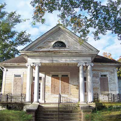 March 2010 greek revival cottage before 39 save this old for Updating an old house