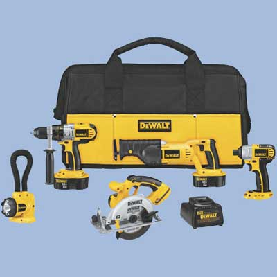 dewalt cordless tool set