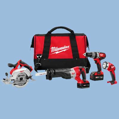 milwaukee cordless tool set