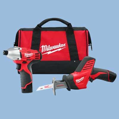 milwaukee cordless tool set