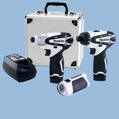makita cordless tool set