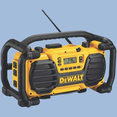 dewalt radio and battery charger