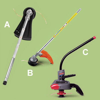 string trimmer accessories for a multihead trimmer