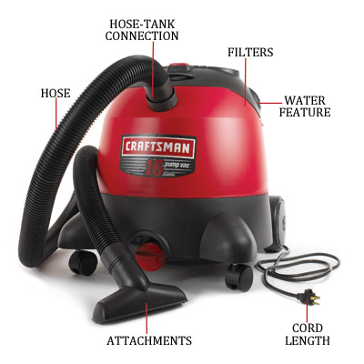 craftsman sixteen gallon vacuum