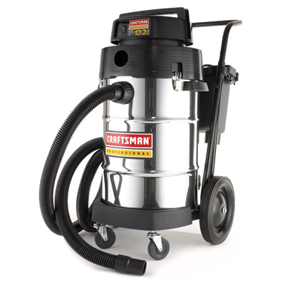 craftsman professional industrial wet dry vacuum