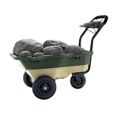 powered garden cart by neuton