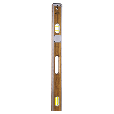 crick tool company forty eight inch wood level