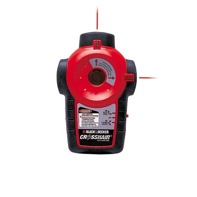 black and decker crosshair laser level