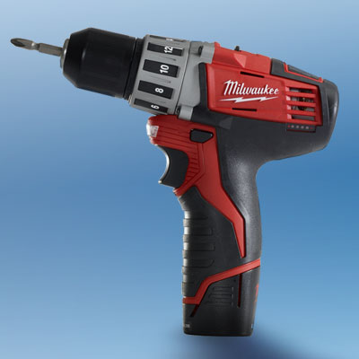 the Milwaukee 2410-22 drill/driver