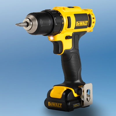 the DeWalt DCD710s2 drill/driver