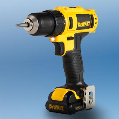 the DeWalt DCD710s2 drill/driver