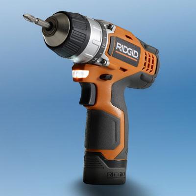 the Ridgid R82008 drill/driver