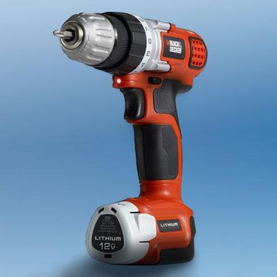the Black & Decker LDX112C drill/driver