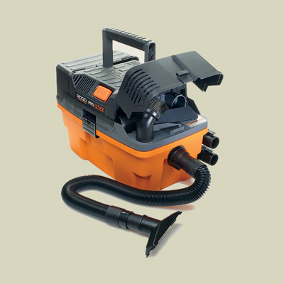 compact utility vac by ridgid