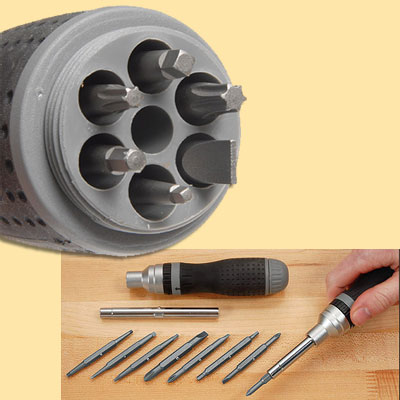 multi bit screwdriver from lee valley