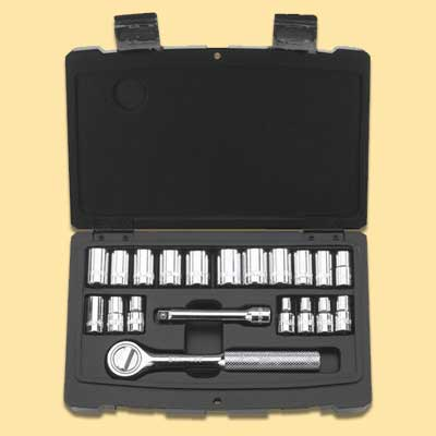 socket set from stanley tools