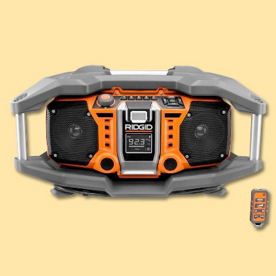 radio from ridgid tools